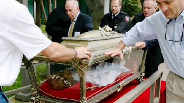 Pilgrimage of Mercy - Tour of the Major Relics of St. Maria Goretti