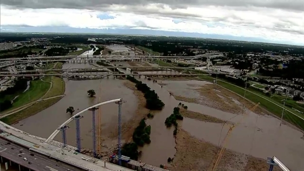 Chopper 5: Trinity River Above Its Banks