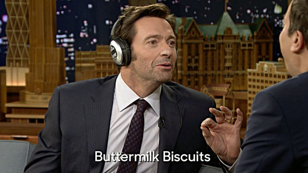 [NATL] 'Tonight Show' Whisper Challenge With Hugh Jackman