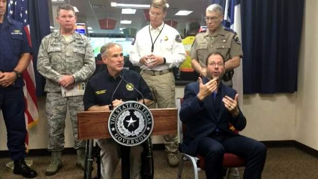 [DFW] Texas Gov Greg Abbott Hurricane Harvey Update, Aug. 27
