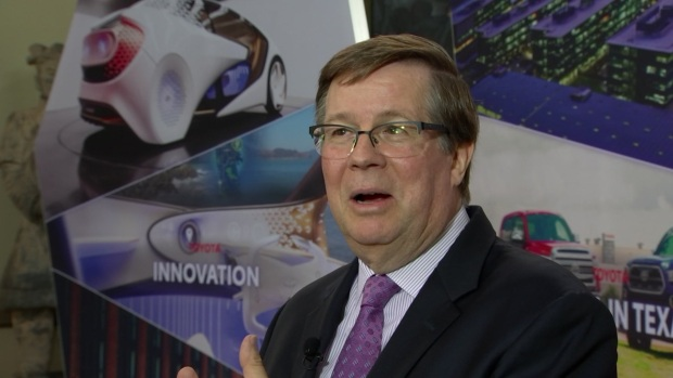 [DFW] Toyota Motor North America CEO Jim Lentz Talks About the Future of the Company