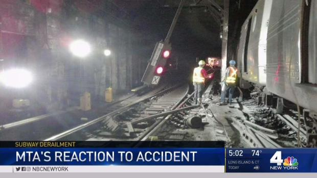 [NATL-NY] Train Derailment Latest in Series of Subway Woes