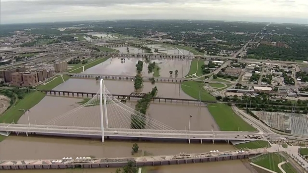 [DFW] How Full is the Trinity River?