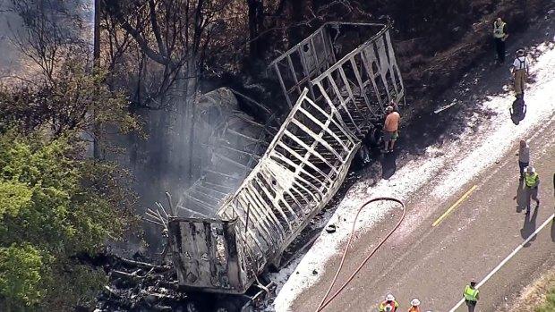 1 Dead in Fiery Waxahachie Crash