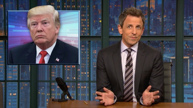 [NATL] 'Late Night': A Closer Look at the Fallout From Trump's Racist Comments