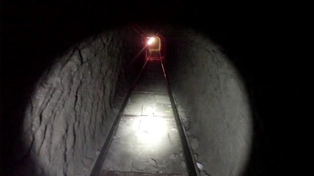 Inside Drug Tunnel Bust