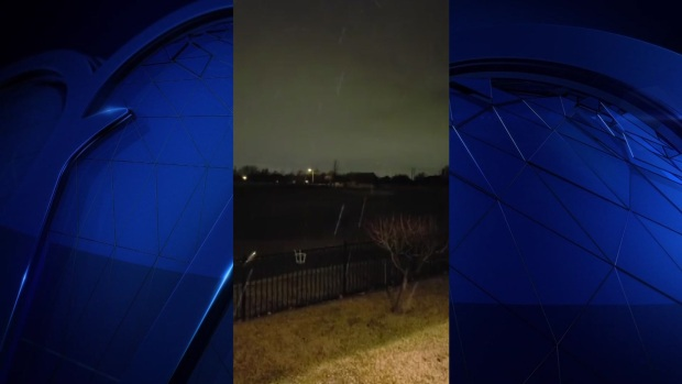 Viewer Video: Sleet Spotted in Garland