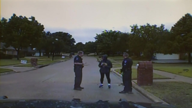 Raw Video: Corinth Police Question UNT Journalism Dean Dorothy Bland