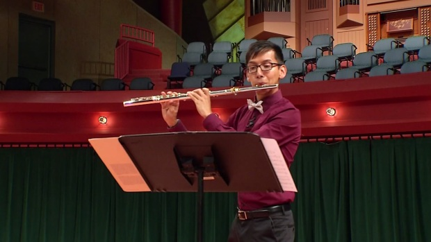 UNT Flutist Wins Prestigious Competition