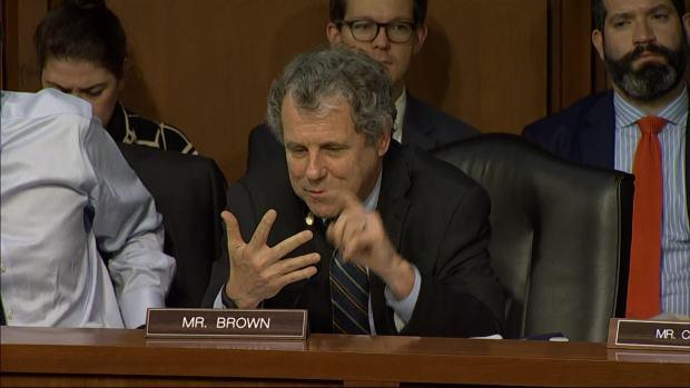 [NATL] Senators Hatch, Brown Trade Barbs in Tax Debate