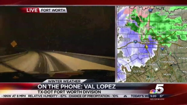 Val Lopez With TxDOT Talks Tarrant County Roads