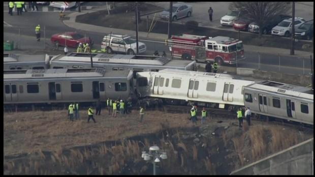 Raw Video: SEPTA Trains Collide