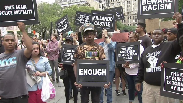 [NATL-NY] Hundreds Take to NYC Streets for 3rd Day of Protests Against Police Shootings