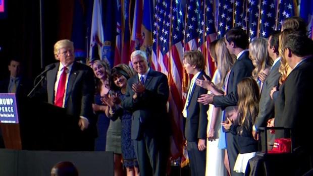 WATCH: Donald Trump's Victory Speech