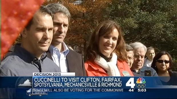 [DC] McAuliffe, Cuccinelli Seek Votes in Va. Gov. Race