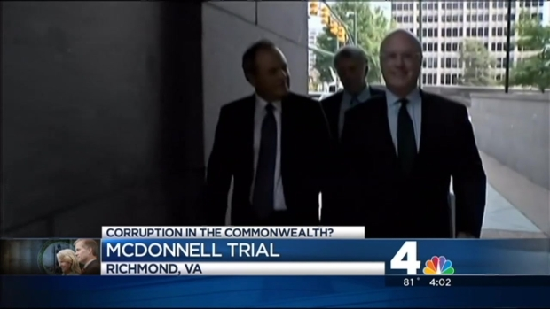 [DC] Ex-CEO's Assistant Testifies on Vacations in McDonnells' Corruption Trial