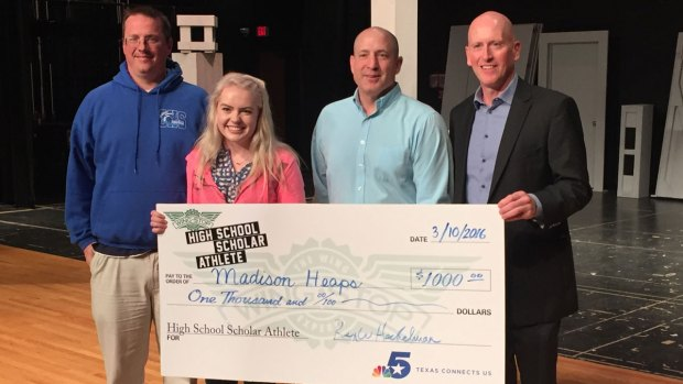 Madison Heaps is Wingstop's Scholar Athlete