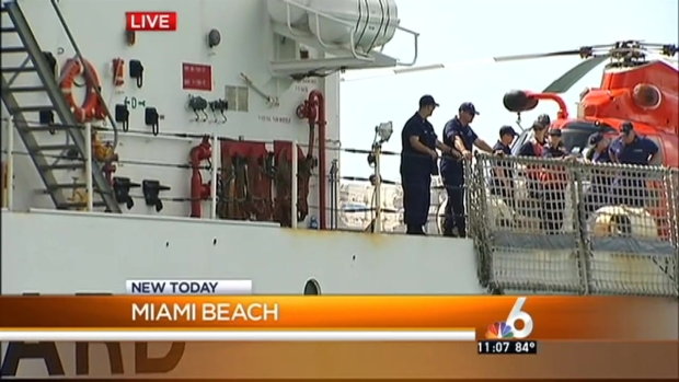 [MI] Coast Guard Offloads $110 Million in Cocaine in Miami Beach