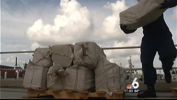 [MI] Coast Guard Offloads $1.9 MIllion in Marijuana in Miami Beach