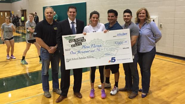 Nina Flores is Wingstop's Scholar Athlete