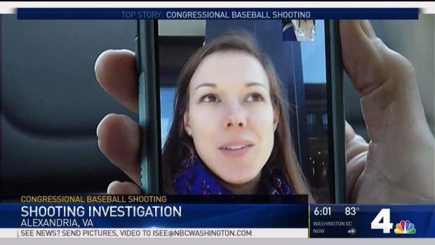Woman Describes Seeing Alexandria Shooter