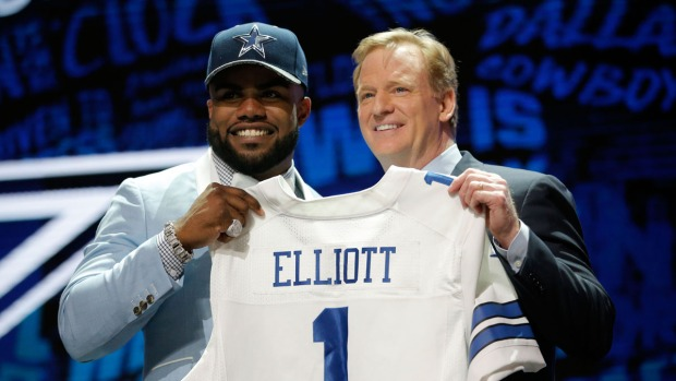 Photos: Dallas Cowboys Running Back Ezekiel Elliott