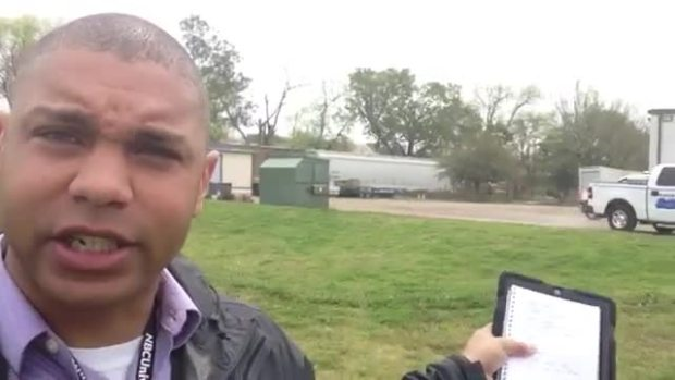[UGCDFW-CJ-VID-Default] NBC 5's Eric King Reports From Escapee Search