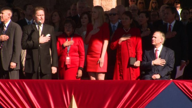 2015 Texas Inaugural Photos