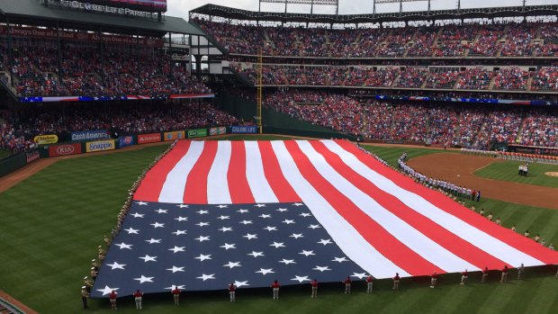Rangers Opening Day