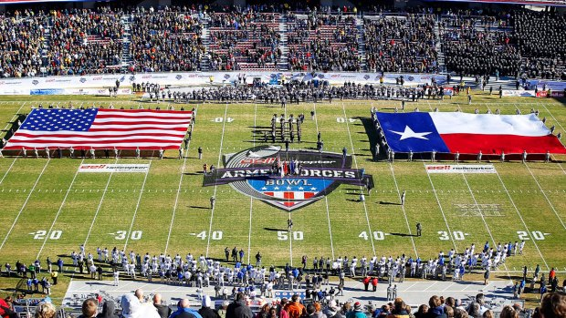 Navy Wins Armed Forces Bowl 24-6 Over MTSU