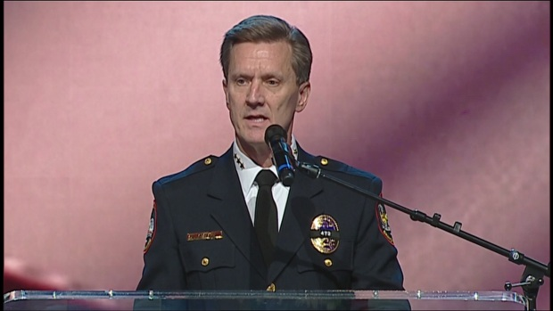 AJ Castaneda Funeral: Police Chief Steve Dye