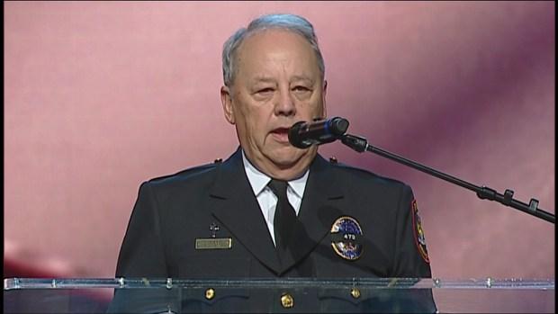 AJ Castaneda Funeral: Police Chaplain Glenn Cato