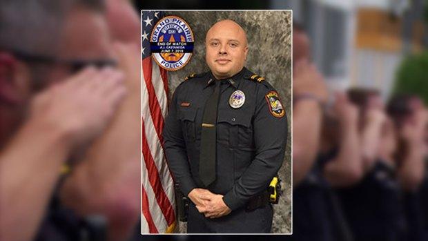 Funeral Thursday Morning for Grand Prairie Officer