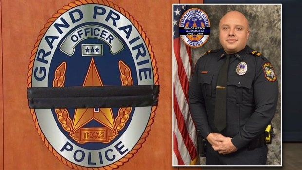 Grand Prairie Officer Struck, Killed in Crash Along President George