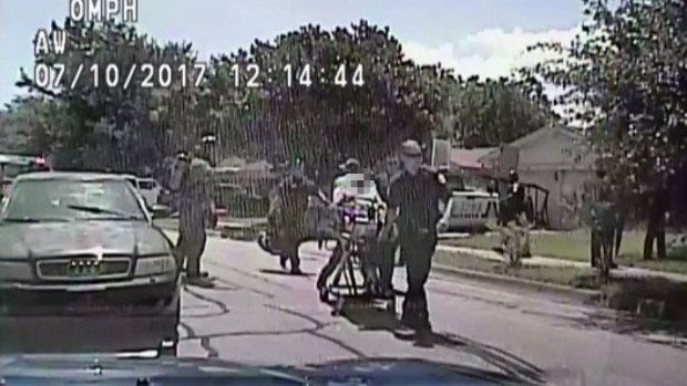 Officers Call for Help When Tasered Man Engulfed in Flames
