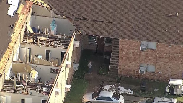 [DFW] Student Injured When Storm Rips Roof Off Dorm