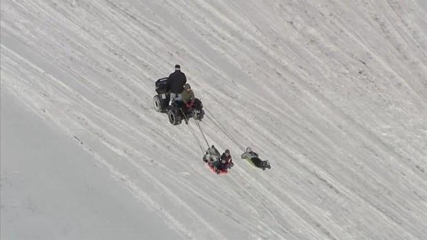 atv-sledding