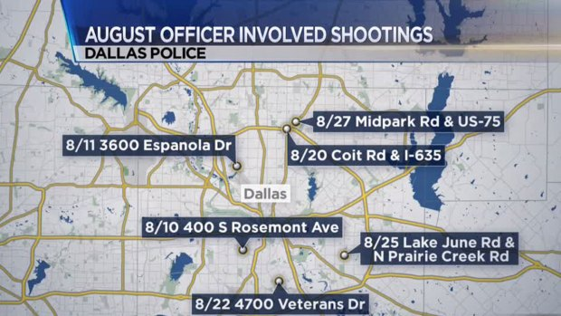 Officer-Involved Shooting is Dallas' 16th of 2014