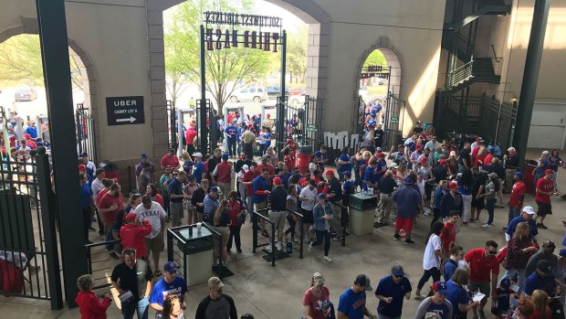 Play Ball! Rangers Fans Pack Globe Life Park for Opening Day