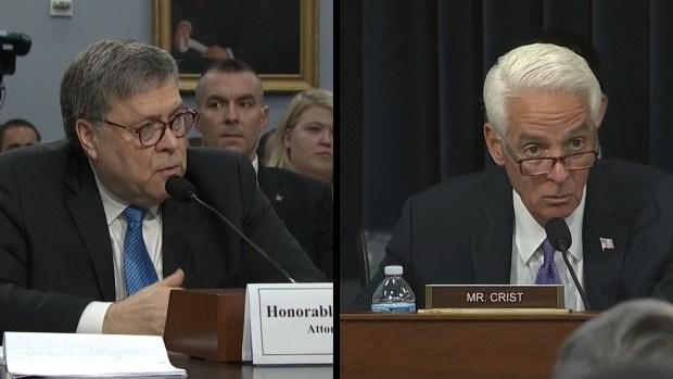 [NATL] AG Barr: 'I'm a Lawyer. I'm Not in Charge of Health Care'