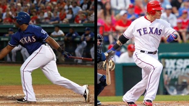 Beltre, Hamilton Finish Top 5 in MVP
