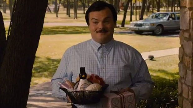 "Jack Black Comes a-Knocking in ""Bernie"" Trailer"
