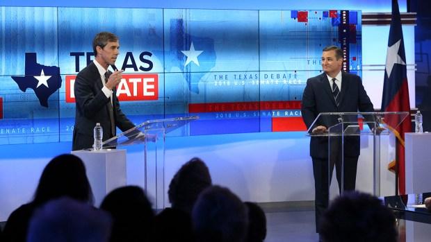 [DFW] O'Rourke Lays Into Cruz as Polls Widen in Texas Senate Race