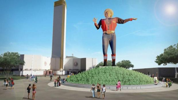 Plans for Revamp of Big Tex Circle Released