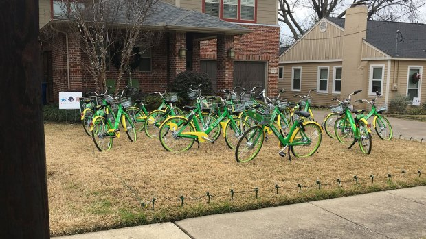 "Dallas Family ""Biked"" By Pranksters"