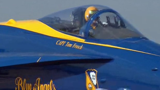[DFW] Blue Angels Arrive in North Texas