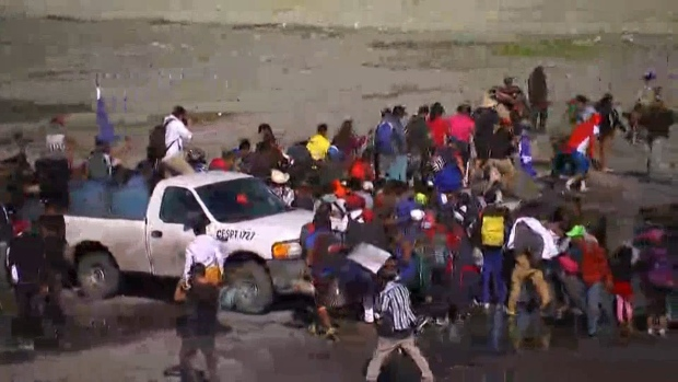 Timeline: Chaos at US-Mexico Border