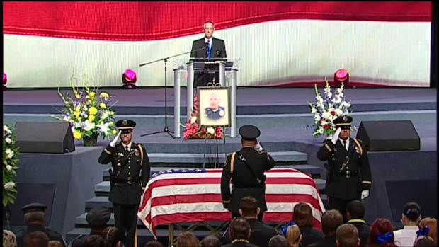 [DFW] Brent Thompson Memorial: Funeral Program at the Potter's House