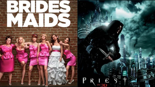 "New Movies: ""Bridesmaids,"" ""Priest"""