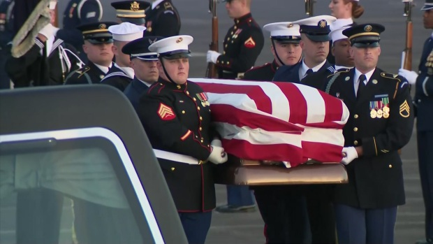Pres. Bush Laid to Rest in Texas